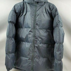 Marc New York Men Puffer Jacket Dark Gray Size Med